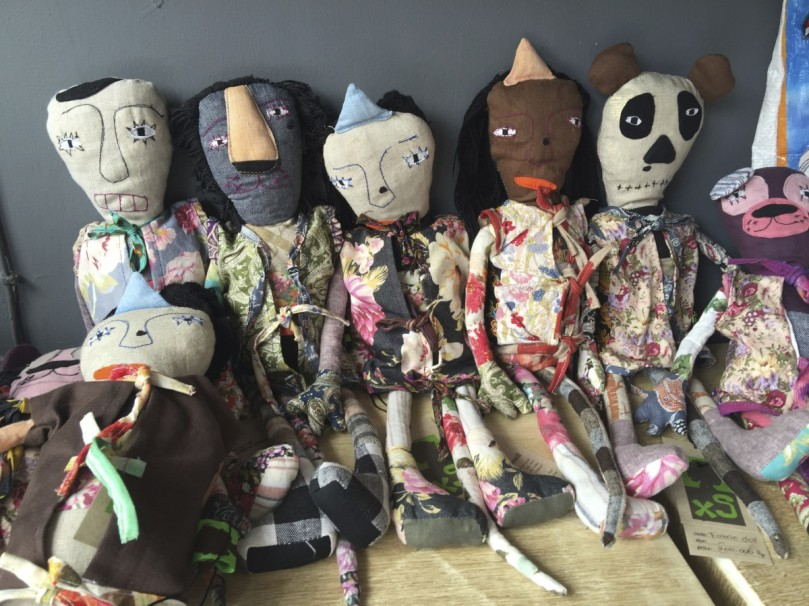 I love these dolls, they are such characters and I had to bring some back for the shop, the difficulty was deciding which one's!