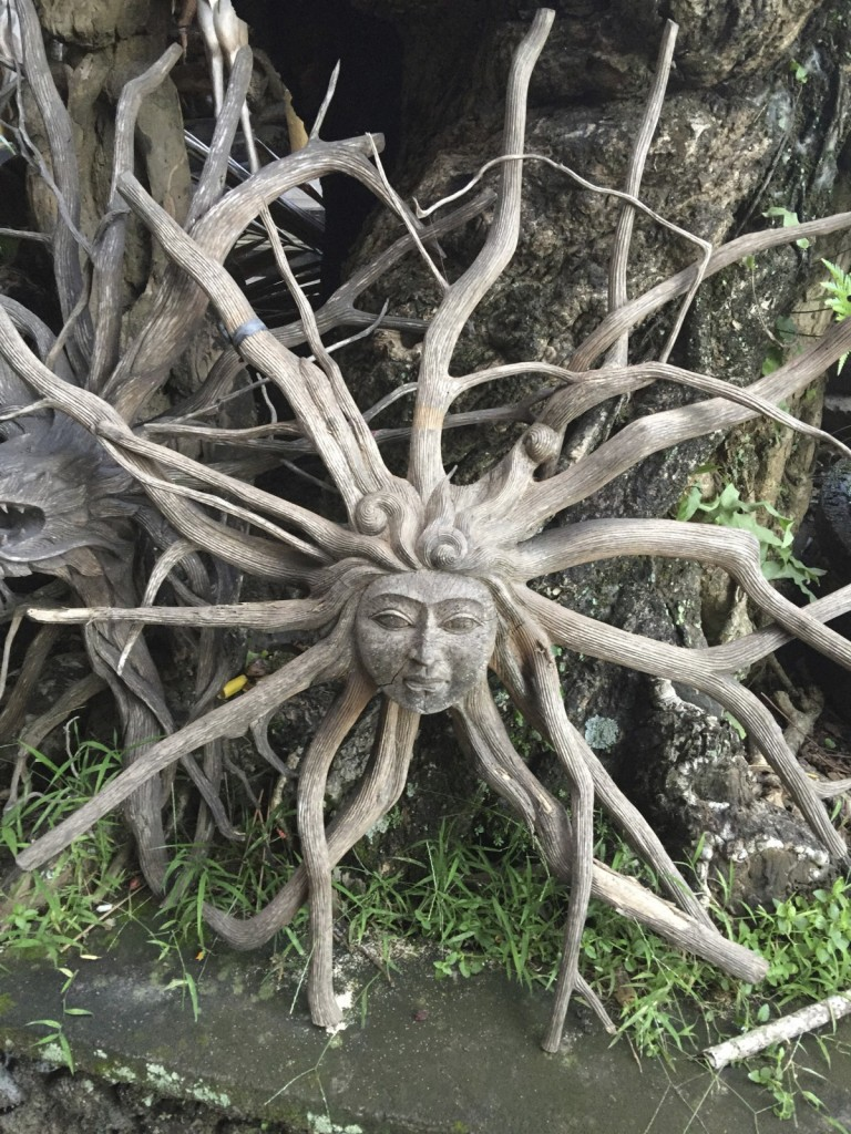 These Tree Angels are carved from Old Tree Roots, perfect for the Garden I thought.