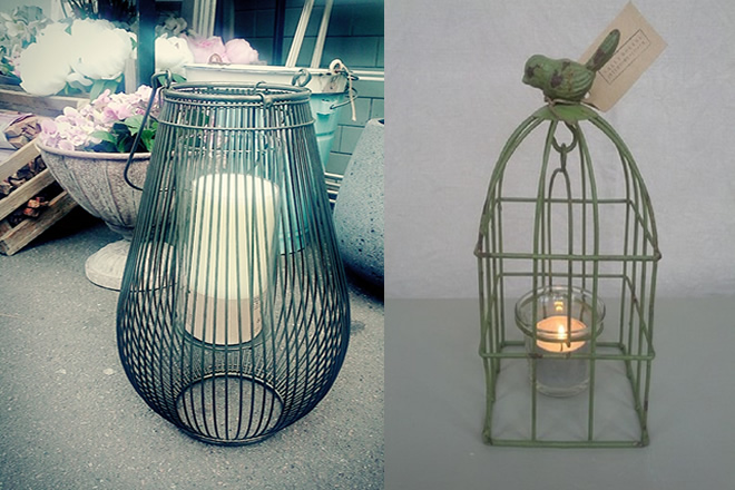 Birdcage Votive Tealight Holder
