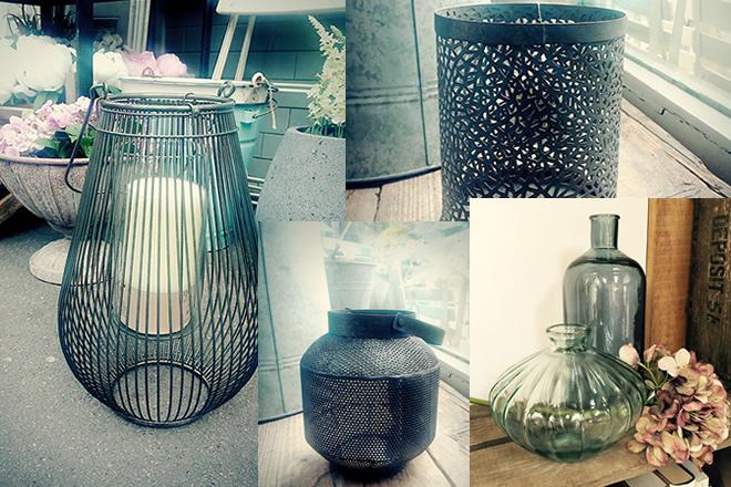Lanterns and Vases