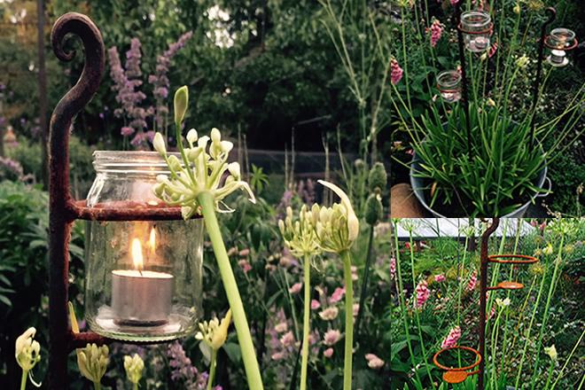 Outdoor Wedding Tealight Holder