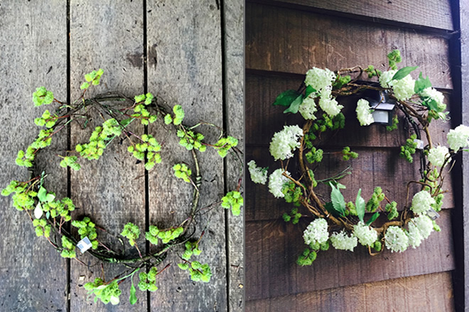 Table Setting Wreaths
